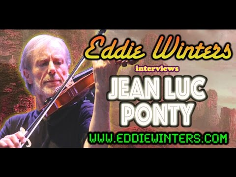 Jean Luc Ponty Exclusive Interview (2017) The Atlantic Years, Allan Holdsworth & More...