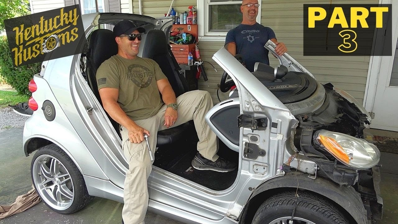 Smart Car To Dune Buggy Transformation (Part 3)