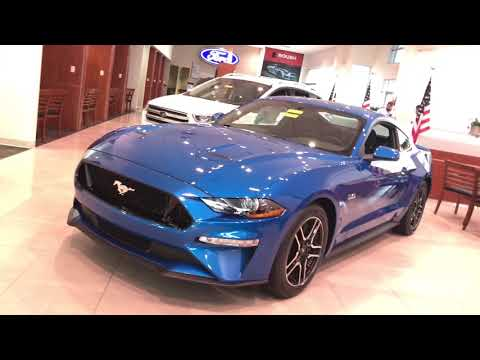 Pony Special!! A  Mustang GT in Velocity Blue!!