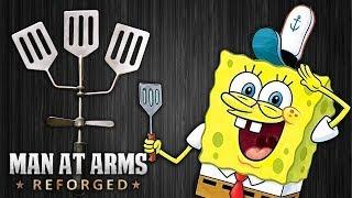 Spat, the Hydrodynamic Spatula - SpongeBob SquarePants - MAN AT ARMS: REFORGED