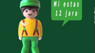 Playmobil How old are you in Esperanto