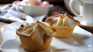 Как приготовить Итальянское пирожное СОФФИОНИ Простой и Вкусный рецепт десерта из Творога