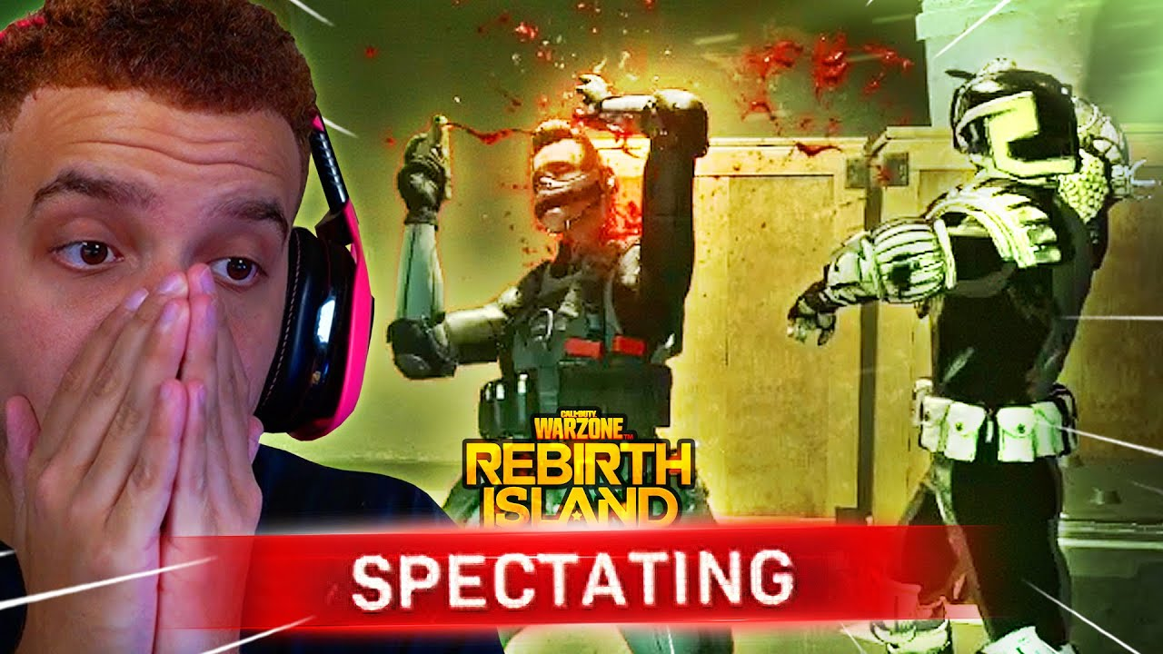 I SPECTATED REBIRTH ISLAND AND REALIZED WHY PEOPLE LOVE WARZONE...