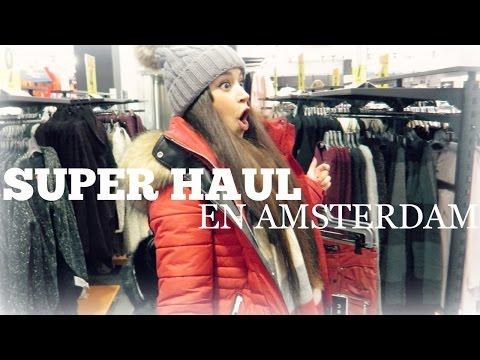 ¡HAUL EN AMSTERDAM! nos vamos de compras! primark, newyorker.....