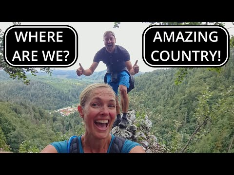 NEW COUNTRY FIRST IMPRESSIONS HIKING | Vanlife Vlog 26 SLOVAKIA