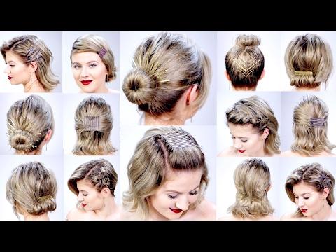 Bobby Pin Hairstyle Tumblr