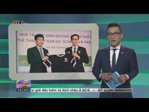 Herbalife tai trợ Thể Thao Việt Nam  2016