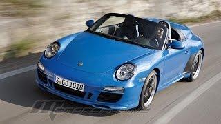 Porsche 911 Speedster 2011 بورش 911 سبيدستر
