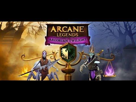Arcane Legends/ Haw To Open Mausoleum City .اركاني ليجيندس/ كيفية فتح مدينة ماوسوليوم