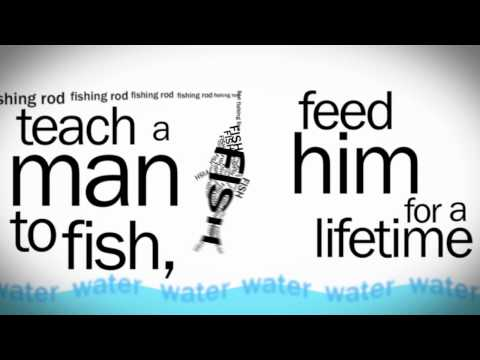 Give A Man A Fish, Feed Him For A Day. Teach A Man To Fish, Feed Him For A Lifetime