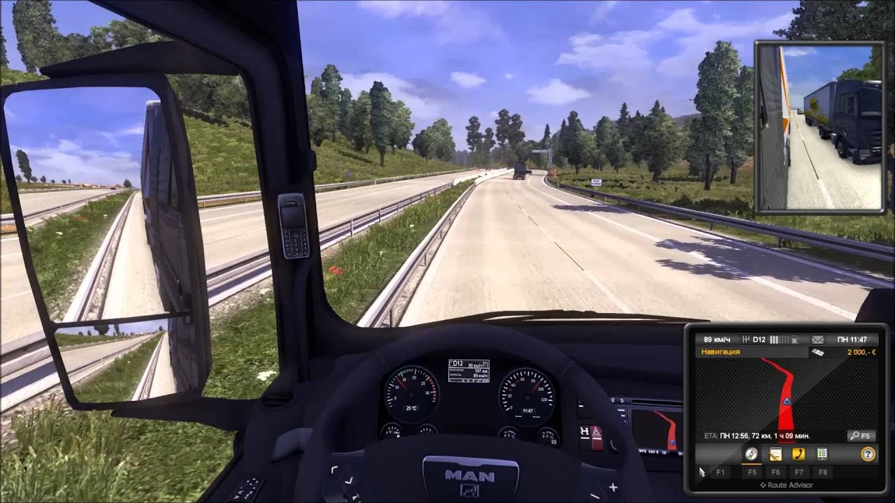 как скачать игру russian truck simulator 2.0 for gts 1.32 карта россии 2.0