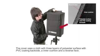 Functional Speaker Cover for Yamaha Powered Speaker DXR,DBR,DXS,CBR Series.