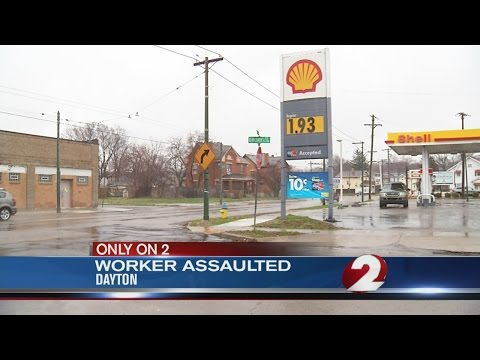 Man intervenes when angry customer attacks gas station worker