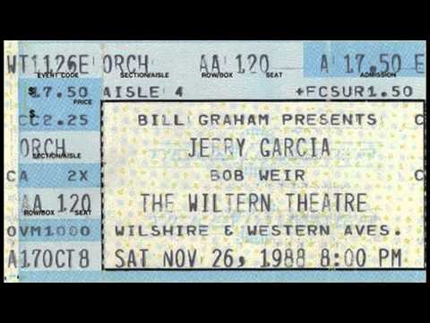 Jerry Garcia Band 11.26.1988 Los Angeles, CA Complete Show SBD