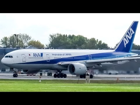 All Nippon Airways 777-200ER (B772) departing Montreal (YUL/CYUL)