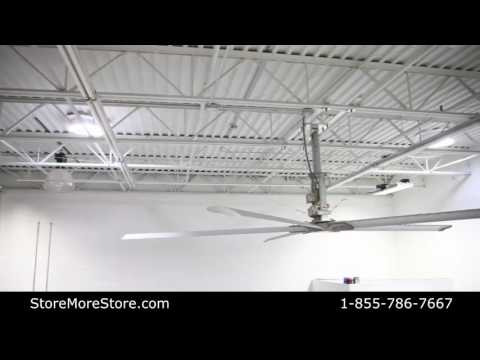 Large Diameter Industrial Commercial Ceiling Fans Ventilation