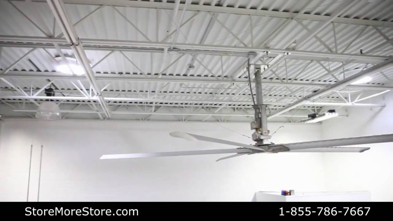 Large diameter industrial commercial ceiling fans ventilation youtube large diameter industrial commercial ceiling fans ventilation aloadofball Choice Image