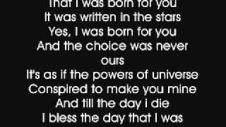 ANTHONNY - BORN FOR YOU (KARAOKE)