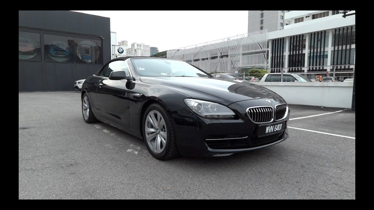 2011 BMW 640i Convertible StartUp and Full Vehicle Tour  YouTube