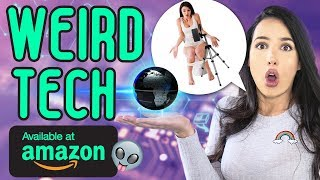 WEIRD TECH AMAZON PRODUCTS - Testing Strange and Ridiculous TECH Items | Mar
