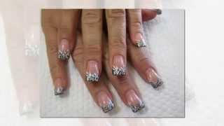 Дизайн Акриловых Ногтей Пошагово. Акриловые ногти.