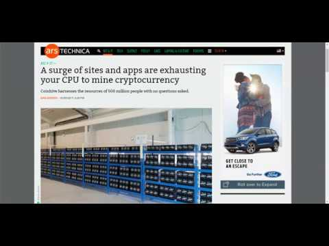 More and more web pages using your CPU to mine Monero, often without page owners permission