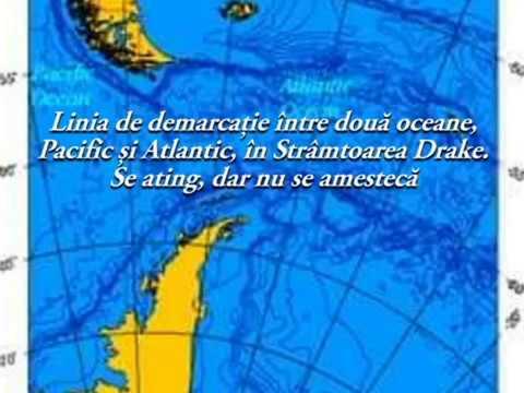 Linia de demarcatie dintre Oceanul Atlantic si Pacific