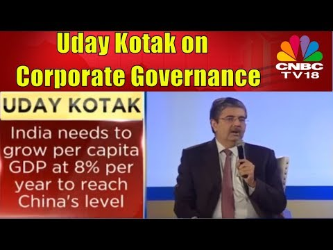 Uday Kotak: India Must Grow at 9% for 20 Yrs to Reach China's GDP| CNBC TV18