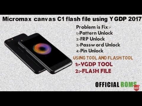 Micromax c1 dead flash file