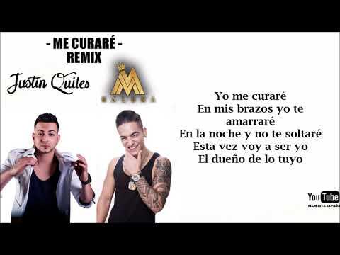 Justin Quiles feat. MALUMA - Me curaré (Remix Lyric)