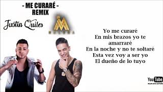 Justin Quiles Feat. Maluma Me curar Remix Lyric.mp3