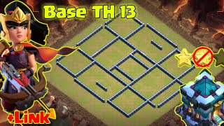 Clash of clans ll Base Th 13 anti Ground ll with link