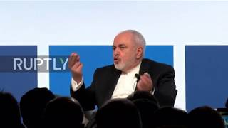 Italy: Zarif hits at Trump's pullout from Iran deal in Rome