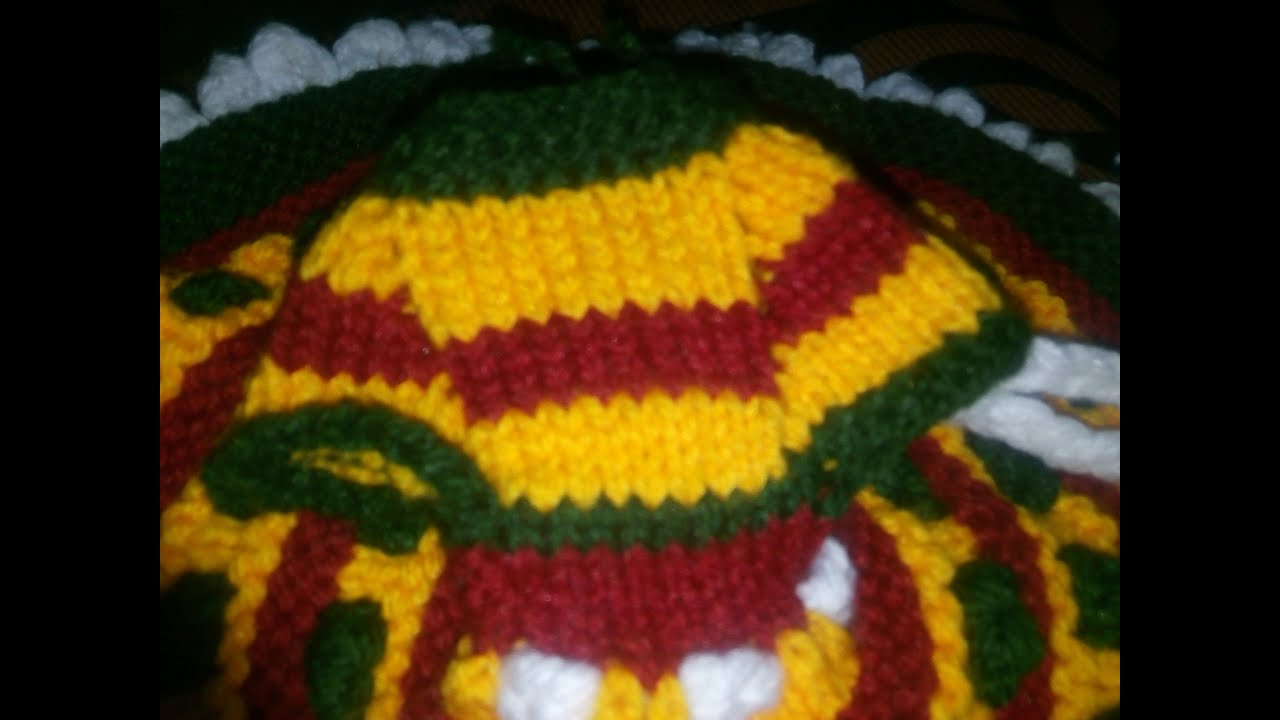 Knitting basic - Jali banana - Learn how to increase stitches in knitting wit...