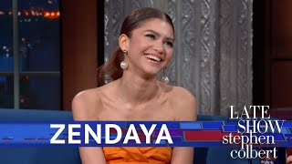 Zendaya Lifts the Curtain On Her Spidey Stunts