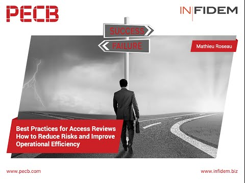 Best Practices for Access Reviews - How to Reduce Risks and Improve Operational Efficiency