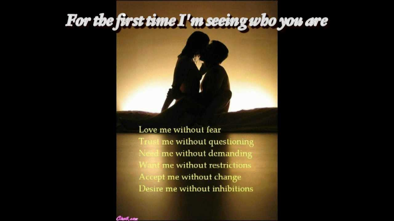 For The First Time by Rod Stewart (lyrics) - YouTube