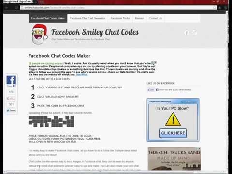 How To Make A Facebook Chat Code (photo)