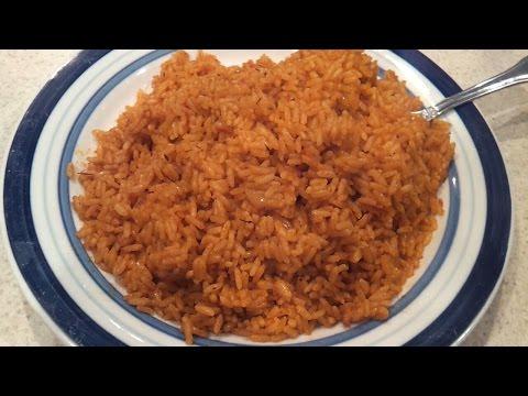 How To Cook Nigerian Jollof Rice / The Easy Way.