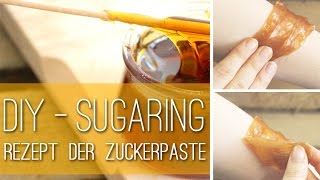DIY-Sugaring - Rezept für Zuckerpaste zur Haarentfernung - Anleitung - Talu.de
