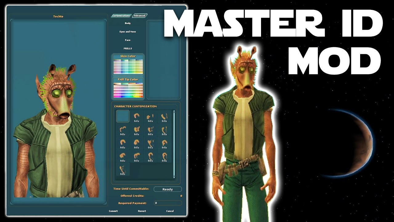 Master Image Design Mod - Star Wars Galaxies Modding