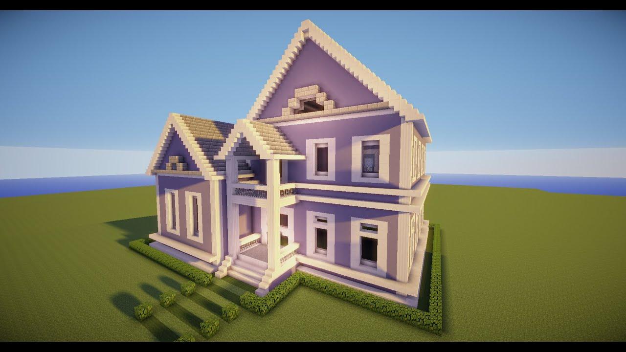 Minecraft como fazer uma casa simples 8 youtube for Imagenes de tumbados de casas