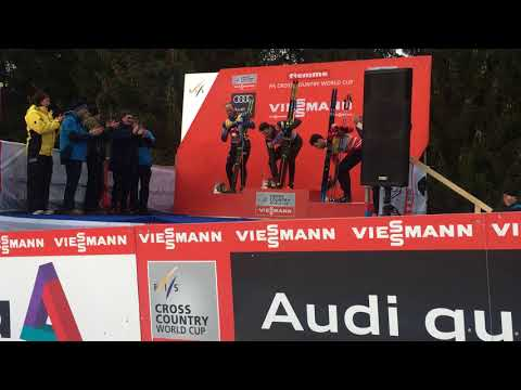 Tour de Ski 2017/2018 - Men's Prize Giving Ceremony