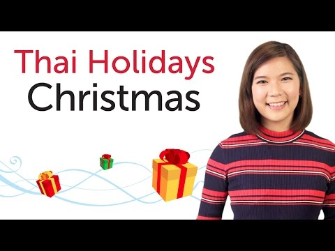 Learn Thai Holidays - Christmas