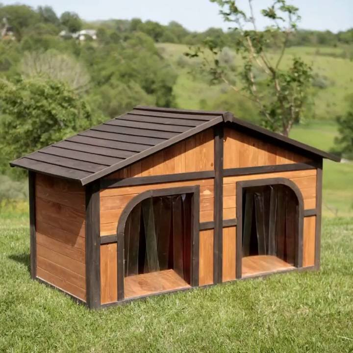 how to make a large dog house