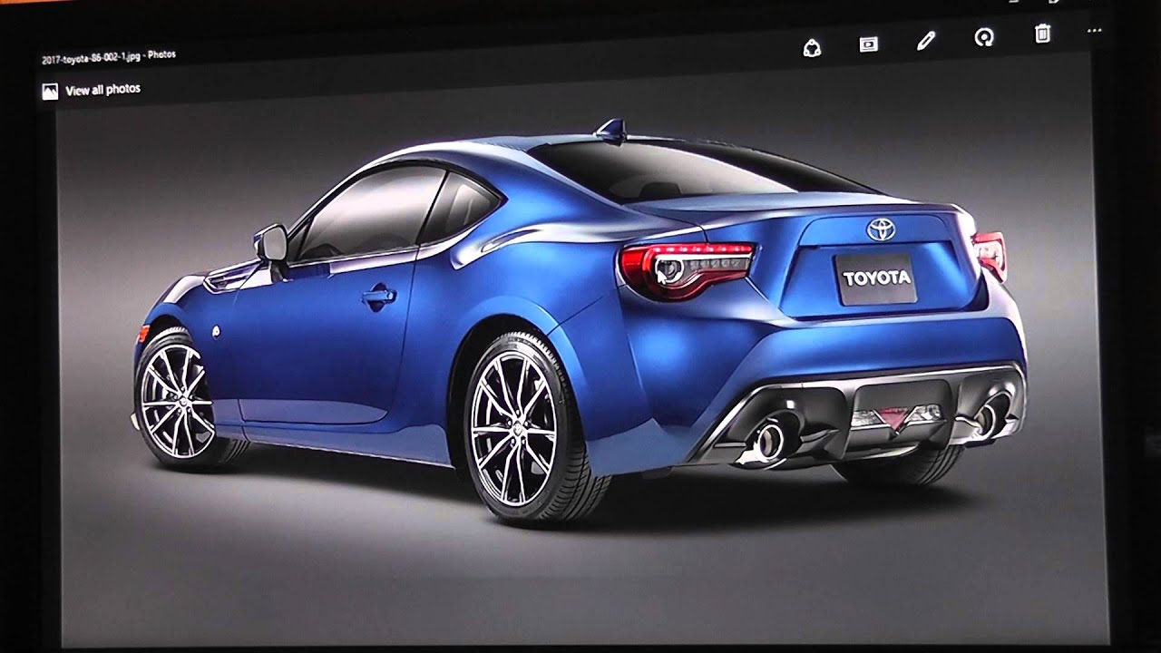2017 Toyota 86 (GT86) - YouTube