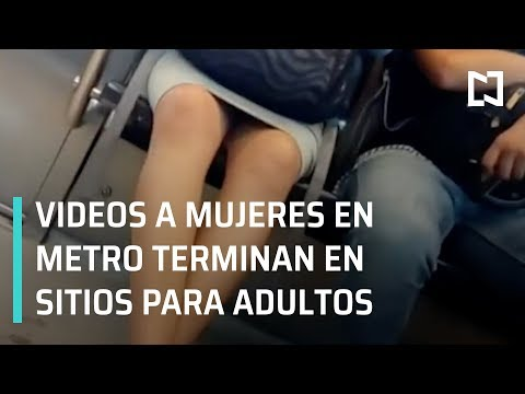Acoso en el Metro; videos terminan en contenidos para adultos - En Punto con Denise Maerker