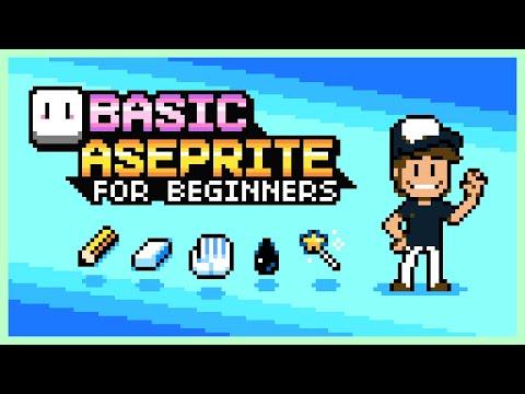 Aseprite Guide for Beginners (Pixelart Tutorial) - YouTube