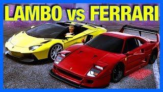 Need for Speed HEAT : FERRARI vs LAMBORGHINI!!