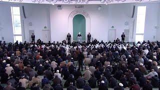 Hutba 06-02-2015 - Islam Ahmadiyya